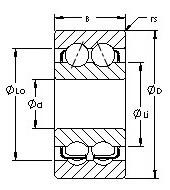 AST 5305 angular contact ball bearings