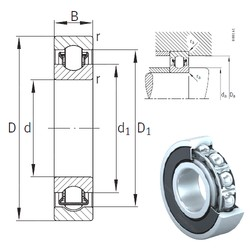 10 mm x 30 mm x 9 mm  INA BXRE200-2HRS needle roller bearings