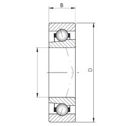 Loyal 71921 CTBP4 angular contact ball bearings