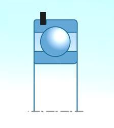 10,000 mm x 30,000 mm x 9,000 mm  NTN 6200LLBNR deep groove ball bearings