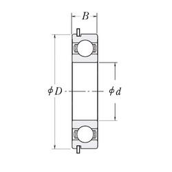 105 mm x 145 mm x 20 mm  CYSD 6921NR deep groove ball bearings