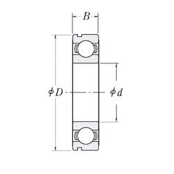 105 mm x 145 mm x 20 mm  CYSD 6921N deep groove ball bearings