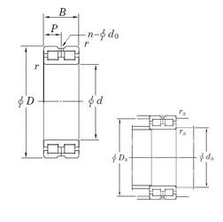 280 mm x 380 mm x 100 mm  KOYO DC4956AVW cylindrical roller bearings