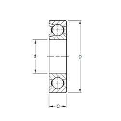 150 mm x 320 mm x 65 mm  Timken 330W deep groove ball bearings