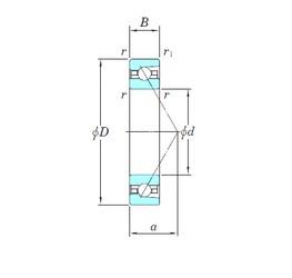 105 mm x 145 mm x 20 mm  KOYO HAR921 angular contact ball bearings