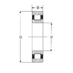 110 mm x 200 mm x 53 mm  SIGMA N 2222 cylindrical roller bearings