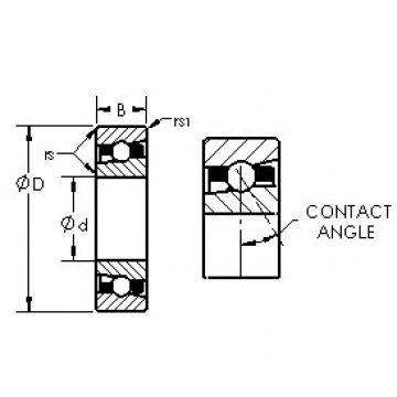 AST H71921AC/HQ1 angular contact ball bearings