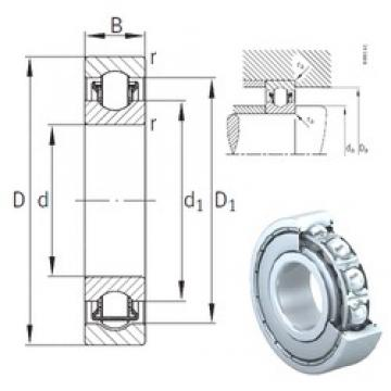 10 mm x 30 mm x 9 mm  INA BXRE200-2Z needle roller bearings