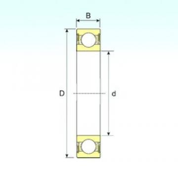 95 mm x 200 mm x 45 mm  ISB 6319-2RS deep groove ball bearings