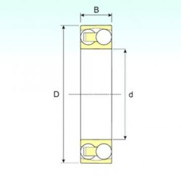 10 mm x 30 mm x 9 mm  ISB 1200 TN9 self aligning ball bearings
