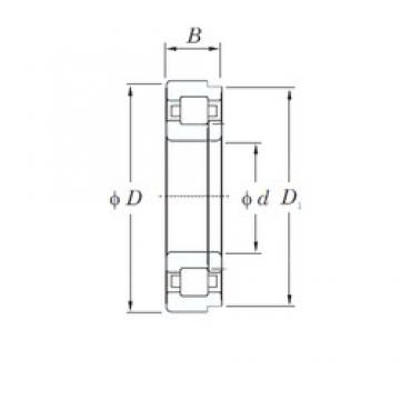 110 mm x 200 mm x 53 mm  KOYO NUP2222R cylindrical roller bearings