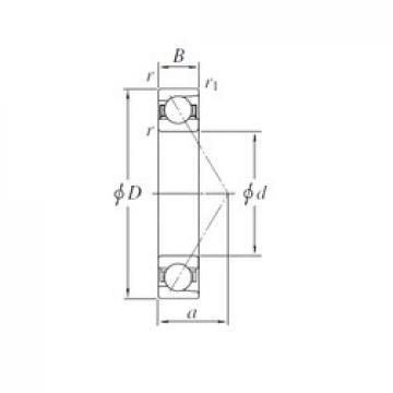 150 mm x 320 mm x 65 mm  KOYO 7330B angular contact ball bearings
