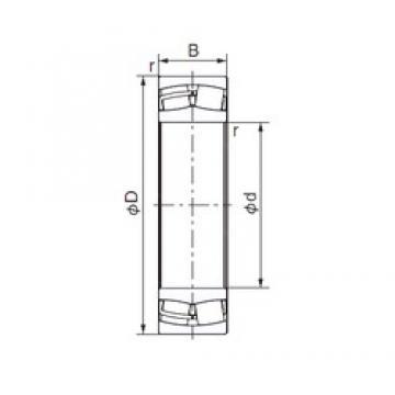 95 mm x 200 mm x 45 mm  NACHI 21319EX1 cylindrical roller bearings