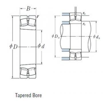 110 mm x 200 mm x 53 mm  NSK 22222EAKE4 spherical roller bearings