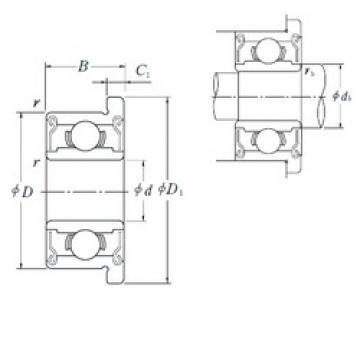 6 mm x 17 mm x 6 mm  ISO F606ZZ deep groove ball bearings