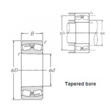 110 mm x 200 mm x 53 mm  NTN 22222BK spherical roller bearings