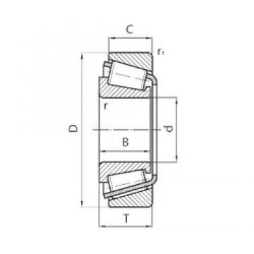 PFI 30308 tapered roller bearings