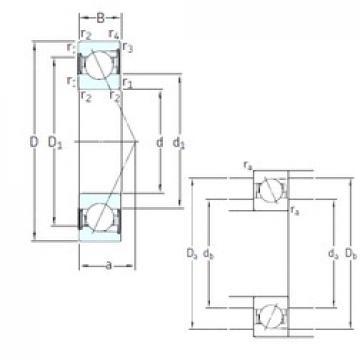 10 mm x 30 mm x 9 mm  SKF SS7200 CD/P4A angular contact ball bearings