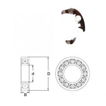 10 mm x 30 mm x 9 mm  ZEN P6200-SB deep groove ball bearings