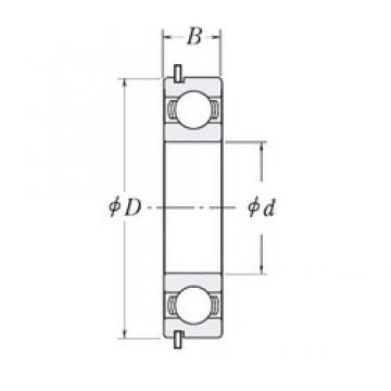 110 mm x 140 mm x 16 mm  CYSD 6822NR deep groove ball bearings