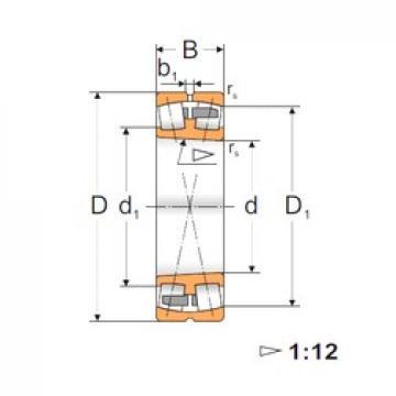 110 mm x 200 mm x 53 mm  FBJ 22222K spherical roller bearings