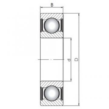25 mm x 62 mm x 25,4 mm  Loyal 63305-2RS deep groove ball bearings