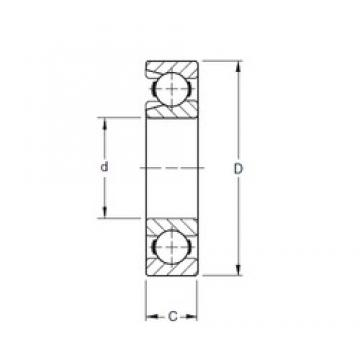 220 mm x 460 mm x 88 mm  Timken 344W deep groove ball bearings