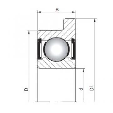 6 mm x 17 mm x 6 mm  Loyal FL606 ZZ deep groove ball bearings