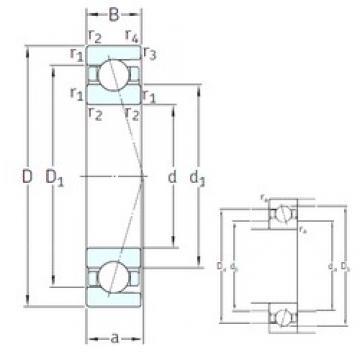 110 mm x 140 mm x 16 mm  SNFA SEA110 /NS 7CE3 angular contact ball bearings