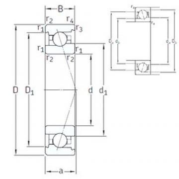 6 mm x 17 mm x 6 mm  SNFA VEX 6 7CE1 angular contact ball bearings