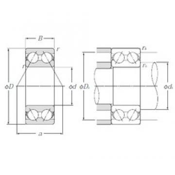 25 mm x 62 mm x 25,4 mm  NTN 5305S angular contact ball bearings