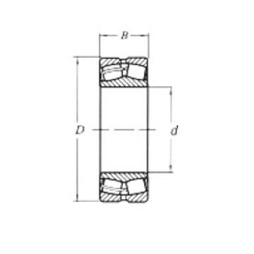 110 mm x 200 mm x 53 mm  Loyal 22222CW33 spherical roller bearings